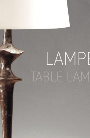 Catalog Objet Insolite: Table lamps 2014