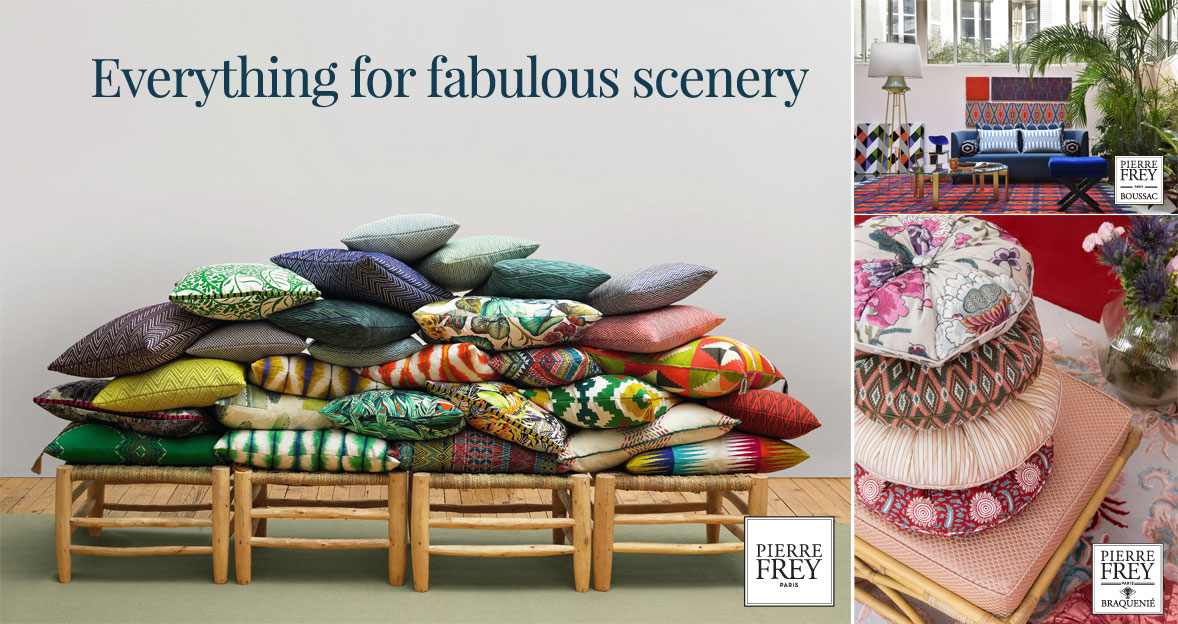 Pierre Frey - Everything for fabulous scenery