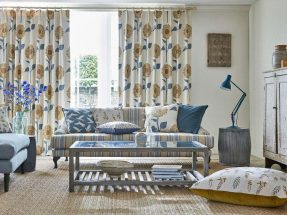 Sanderson Curtains  fabric & wallpaper – The Potting Room Collection