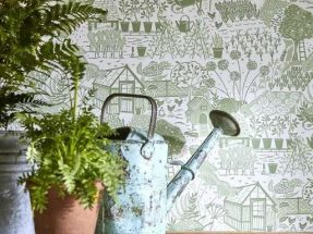 Sanderson HOME wallpaper collection The Potting Room