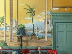 Tapet Early Views of India – de Gournay