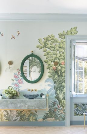 Tapet Paradise Lost – de Gournay